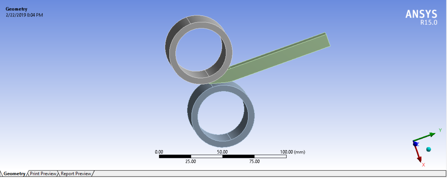 Simulation of Rolling Operation Using Ansys Workbench - Projects