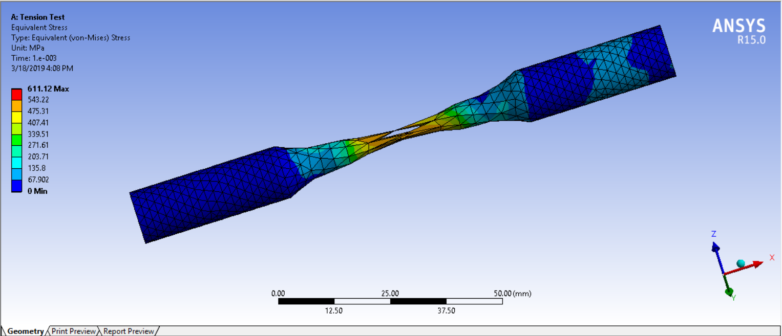 Tension and Torsion test in Ansys Workbench - Projects - Skill-Lync