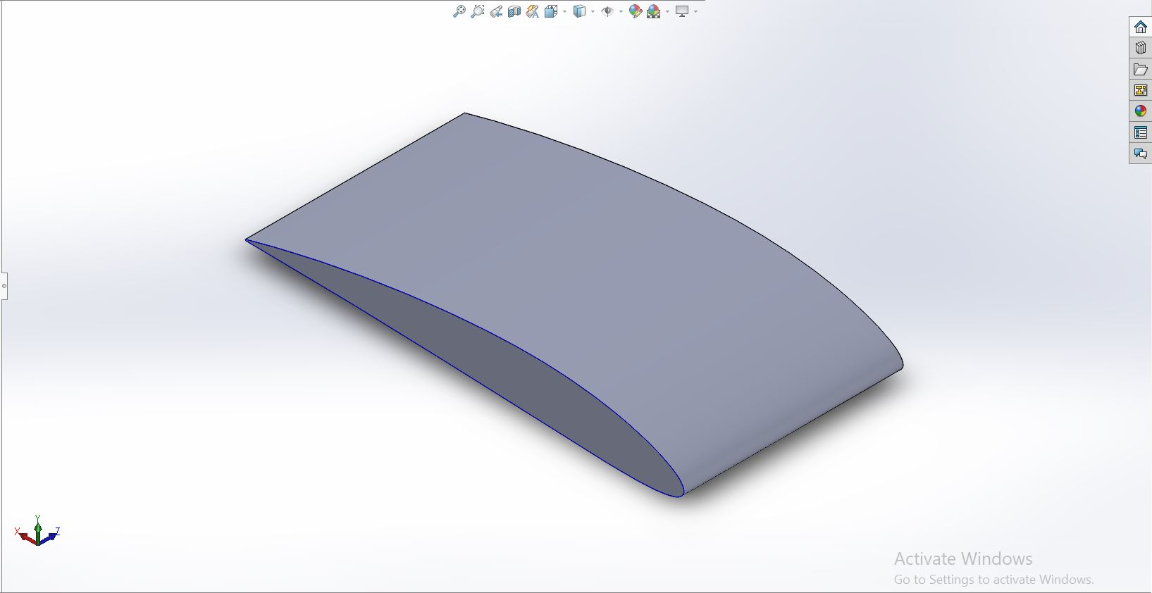 Flow over a NACA 2412 Airfoil in Converge Studio - Projects